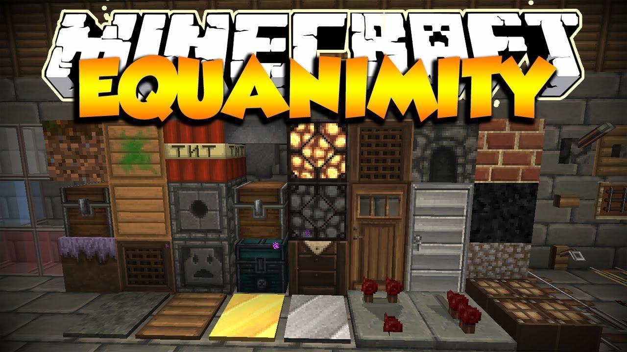 Шейдеры equanimity x32 для minecraft 1 7 4